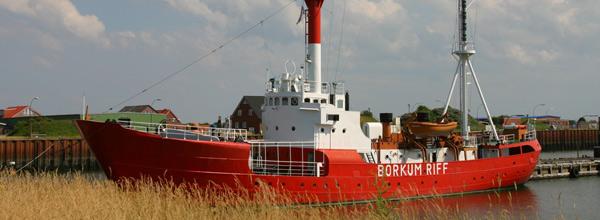 feuerschiff borkumriff urlaub auf borkum